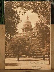 1947 The Driskill Hotel Lunch And Dinner Menu Austin Texas Capitol Building Cover