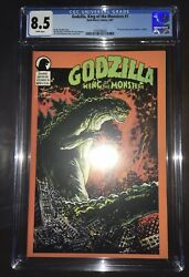 Godzilla King Of The Monsters Special 1 Dark Horse 1987 Cgc 8.5 | Alan Moore