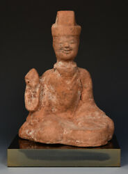 Han Dynasty, Antique Chinese Pottery Entertainer