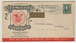 E.p. Mueller Wholesale Dairy And Stable Feeds Cover Goshen, Ny Jh 1/11 Gp