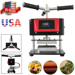 Heating Press Machine Manual Spinning Plate 2ton 500w Double Layer Heating Plate