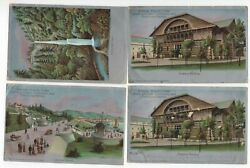 Lewis And Clark Centennial 1905 Expo Post Cards Lot Portland, Or Jh 1/12 Gp