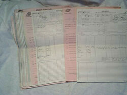40-1981 Chicago And Northwestern Rr Work + Conductors Caboose Reports,adams,wi