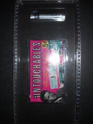 1962 The Untouchables Card Pack Topps Gai Graded 8 Nm-mt