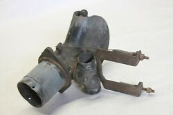 Original 1930and039s 1940and039s Car Truck Under Dash Heater Vent Deflector Assembly Part