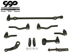 63 64 Falcon V8 Drum Spindle Complete Steering Linkage Conversion Kit 1/2 Thread