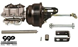 1953-56 Ford F100 F-100 7 Dual Power Brake Booster Conversion Kit Bolt In