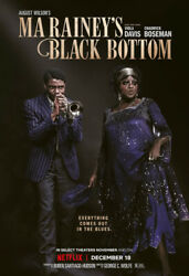 Ma Rainey#x27;s Black Bottom 2020 DVD NEW FREE SHIPPING WITH TRACKING $15.00