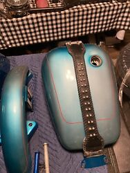 Fxlr Fxr Fxrs Gas Tank And Fenders Oem Paint