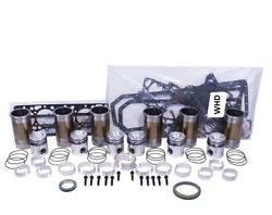 Engine Overhaul Kit With Rod Bolts Fits International 1586 Tractor