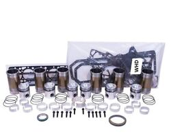 Engine Overhaul Kit With Rod Bolts Fits International 1460 Combine