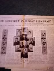 Ea6 Ephemera 1920s Picture article the hornby railway company club first member