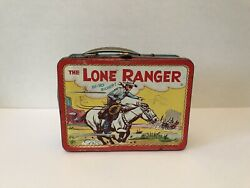 Vintage 1954 Lone Ranger Lunchbox By Adco Liberty