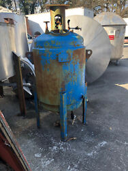 Carbon Steel Jacketed Tank Approximately 220 Gallons Used