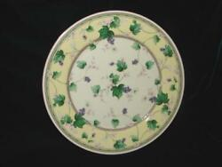Vintage Japan Andrea By Sadek Fine China Plate With Grapes And Leaves