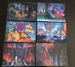 1992 Cool World Movie Poster Postcards Limited Editions Collectors Set Of 6