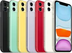 Apple Iphone 11 64gb 4g Lte Gsm T-mobile/ Metro/ Ultra/ Mint Smartphone A+
