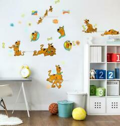 Scooby Doo Peel amp; Stick 29 Wall Decals Cartoon Characters Room Decor Stickers
