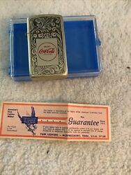 Coca Cola Lighter By Park And Barlow Never Ever Used Open Item