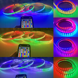 2pcs 4ft Underbody Strips + 15.5 Wheel Rim Lights Ip68 Double Row Color Chasing