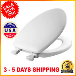 Round Elongated Enameled Wood Toilet Seat Replacement For Kohler As Toto
