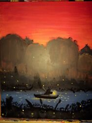Paintings By Rj Rogers Swamp Light