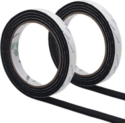 Bbq Smoker Gasket Barbecue Door Lid Seal Adhesive Heat Grill Seal 1/8 Inch Thick