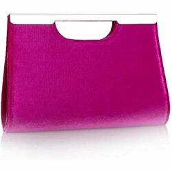Velvet Clutch Purses For Women Evening Party Metal Grip Cut It Out Handbag With $35.98