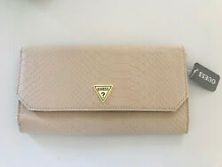 GUESS Cleopatra Clutch Color: Slate Snake Gray New With Tags $8.24