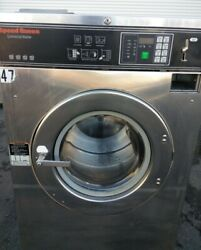 Speed Queen Sc40 Front Load Washer Coin Op 40lb, Sc40bc2ou60001 S/n 0501977472