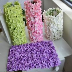 Wall Flowers T Stage Hydrangea Arch Road Photo Background Wedding Decoration