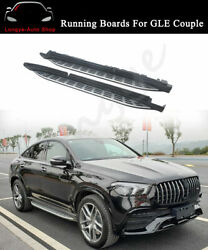 Running Board Fits For New Mercedes Benz Gle Coupe 2021 Side Step Nerf Bar