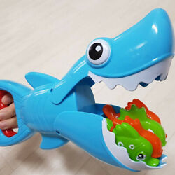 5pcs Toddler Baby Water Toys Bathtub Catching Fish Toys Bath Hungry Shark Toys