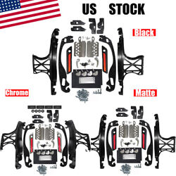 Usa One Touch Opening Saddlebag Latch Lids Hardware Kit For Harley Touring 14-18