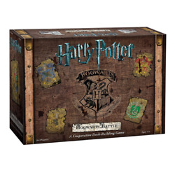 Harry Potter Hogwarts Battle Cooperative Deck Building Game New Free Shipping