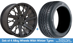 Velare Winter Alloy Wheels And Snow Tyres 19 For Mini Clubman [f54] 15-18