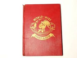 82 Photographs Of All Pages Of This World-wide Stamp Album Ww1
