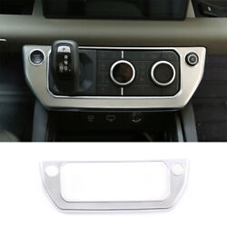 Fit For Defender 110 2020-2021 Matte Silver Central Console Ac Switch Panel Trim