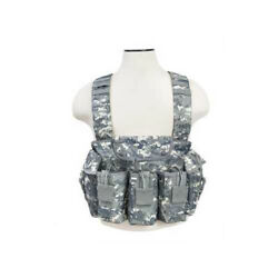 Ncstar Vism Tactical Rifle Chest Rig In Digital Camo Nylon