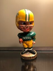 Green Bay Packers 1965-67 Vintage Bobblehead - Excellent/near Mint Minus