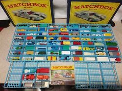 79 Near Mint Vintage Lesney Matchbox Collection In 2 Cases