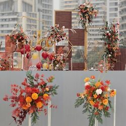 Artificial Flowers Rose Row Small Corner Home Garland Flores Party Decorations