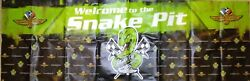 97th Indianapolis 500 Motor Speedway 84x28 Snake Pit Indy Car Race Vinyl Sign