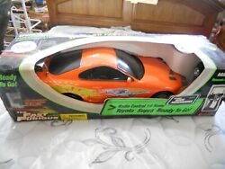 Rare The Fast And The Furious Toyota Supra 16 Scale Official Merchandise Rc16ff