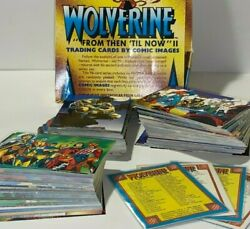 1992 Marvel Wolverine From Then 'til Now Ii 🔥duplicates Card Lot Of 231🔥 Box