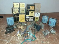 Stancor Power Transformer Lot Nos And Used Triad Filter Choke 28 Pieces Vintage