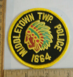 Middletown Pennsylvania Police Fabric Patch