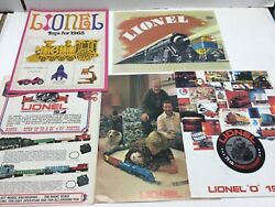 11 Vintage Antique 1965 To 1989 Lionel Train Toy Yearly Booklet Catalogs