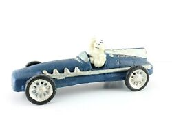 Hubley Reproduction Cast Iron 1934 Michelin Tire Man In Car