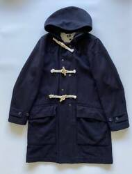 Engineered Garments Duffle Coat Hooded Size S Dark Navy Good Condition Used